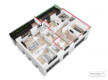 Nouvelle résidence à 4 unités à Nospelt ImmoCasa vous propose en exclusivité une nouvelle résidence de 4 unités au centre de Nospelt  La résidence comprend 4 appartements de 54.40 à 92.40m2. 4 Parkings intérieurs au prix de 25.000eur. (En supplément) 4 parkings extérieurs au prix de 15.000eur. (En supplément) 4 Caves inclues dans le prix de vente. Local vélos/poussettes en commun.  Ici vous trouvez l\'appartement au premier étage côté droit de 76.30m2 habitables. Vous disposez d\'un hall d\'entrée, living lumineux salle de bains/douche, cuisine séparée/fermée non fournie. Spacieuse terrasse de 26m2, 2 spacieuses chambres à coucher.  Ce projet est une Rénovation/Modification. Nouvelle électricité. Nouvelle chauffage. Nouvelle Toiture. Nouvelles dalles, etc. Matériaux de haut qualité au choix pour les finissions. Pour plus d\'informations et pour les plans, n\'hésitez pas à nous contacter.  N\'hésitez pas à nous contacter pour vendre votre bien. Nos estimations sont gratuites.  Nous recherchons en permanence pour la vente et pour la location des appartements, maisons, terrains à bâtir et projets autorisés pour clientèle existante. Achat éventuel par notre société.    Ref agence : 1906581