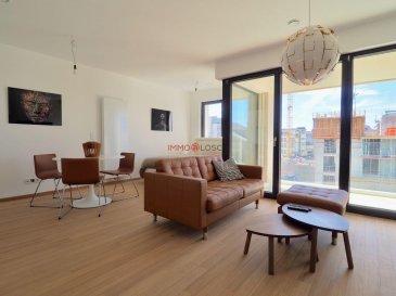 <br>Studio meublé de +/- 40 m2 à louer <br><br>Sis à Luxembourg-Hollerich à deux pas des transports publiques, de la gare, du centre-ville de la capitale et d\'une variété de restaurants et de magasins.<br><br>Un supermarché s\'établira également en rez-de-chaussée du bâtiment.<br><br>Description:<br><br>- Espace de vie avec accès au balcon <br>- Salle de douche <br>- Cuisine équipée ouverte<br>- Grande cave avec buanderie individuelle<br>- Emplacement intérieur inclus dans le loyer<br>- Le studio est équipé avec un parquet de bambous<br>- Inspirée de l\'architecture new-yorkaise<br><br>Le studio est complètement meublé avec :<br><br>- Grand placard avec Télévision intégrée<br>- Canapé<br>- Table<br>- 4 Chaises<br>- Lit<br><br><br>3 mois de caution : 4500€<br>Charges               :   280 €<br>Frais d\'agence     : 1696,50 € TTC 17% <br><br>Disponible le 01.08.2021<br><br /><br />***new construction***<br><br>A furnished studio of +/- 40 m2 for rental.<br><br>Situated in Luxembourg-Hollerich close to public transports, central train station, downtown area of Luxembourg City and a variety of restaurants and shops.<br><br>A supermarket as well is going to be established on the ground floor of the building. <br><br>Description:<br><br>- Living room with access to the balcony. <br>- Shower room. <br>- Open equipped kitchen<br>- Large cellar with a separate laundry room.<br>- Indoor parking (included in the rental).<br>- The studio is equipped with a bamboo parquet floor.<br>- Inspired by New-York architecture. <br><br><br>- A large wall cupboard with a Television integrated.<br>- Sofa<br>- Table<br>- 4 Chairs<br>- Bed<br><br>3 months of deposit:  4500€<br>Monthly charges:    280 €<br>Agency fees VAT of 17% included: 1755 €<br><br>Available on the 15.04.2019