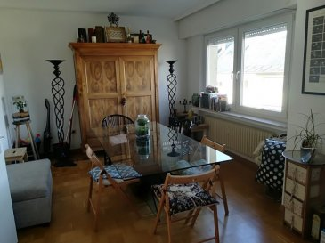 SPACEPLUS real estate agency propos you this nice apartment of 60m2, one bedroom, completely furnished for rent. Located in a small residence of 3 units in a very quiet area of Luxembourg- Bonnevoie. Address: 40, rue de l'Egalité L-1456. Good public transport connection. Bus 5, 6, 8. !!!!! Apartemet will be availble from 15th of April 2020 !!!!!  The apartment is composed as follows: - entrance hall with a miror-wall, - living room with a balcony at the back of the building, towards the garden, -  separate and fully equipped kitchen, - one bedroom, - one bathroom.    Gas heating. Shared laundry room with washing machine and dryer. A very pleasant garden available to 3 units of the building.  For more information or to arrange a visit, contact Natacha BIVORT at 661 33 44 22 or by email n.bivort@spaceplus.lu  Agence immobilier SPACEPLUS vous propose en location un agréable appartement de 60m2, une chambre à coucher, complètement meublé.  Sis dans une petite résidence de 3 unités dans un quartier très calme à Luxembourg- Bonnevoie.  Adresse : 40, rue de l'Egalité L-1456.  Bonne connexion transport commun. Bus n.5, 6, 8.  !!!! Disponibilité 15 avril 2020 !!!!  L'appartement est composé comme suit:  - hall d'entrée, - living avec un balcon à l'arrère de l'immeuble, vers le jardin, - une cuisiné séparée et complètement équipée, ouverte sur salle à manger, - une chambre à coucher, - une salle de bain.  Chauffage au gaz. Buanderie commune avec un lave-linge et un sèche-linge en disposition de locataires.  Un très agreable jardin en disposition de 3 unités de l'immeuble.  Pour plus d'information ou pour convenir d'une visite, contactez Natacha BIVORT au 661 33 44 22 ou par mail n.bivort@spaceplus.lu