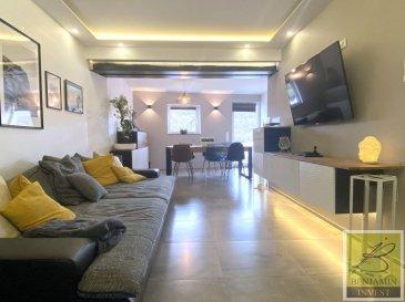 L'agence Benjamin IMMO vous présente cette superbe maison de 130 m2 situé dans une rue calme de Rodange.  La maison fût entièrement rénovée en 2015 du sous-sol jusqu'à la toiture.  La maison se compose comme suit:  Au sous-sol  - Salle de jeu - Chambre à coucher - Salle de bain - Grande cave  Rez-de-chaussée  - Cuisine - Living avec accès terrasse  - WC séparé  1er étage  - Chambre parentale avec dressing - Salle de bain    2ème étage  - 2 chambres à coucher    Pour tout complément d'information, n'hésitez pas à nous contactez par téléphone au 28 77 88 22. Nous sommes également disponibles pour organiser les visites le samedi !  Nous sommes, en permanence, à la recherche de nouveaux biens à vendre (des appartements, des maisons et des terrains à bâtir) pour nos clients acquéreurs.  N'hésitez pas à nous contacter si vous souhaitez vendre ou échanger votre bien, nous vous ferons une estimation gratuitement. Ref agence : 187
