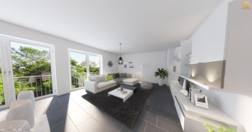 DUPLEX NEUF AVEC 3 CHAMBRES EN VENTE *** EMPLACEMENT INTERIEUR INCLUS ***  Bel duplex de haut standing, d'environ 138.63m2 habitables, situé au 2' et 3' étage d'une maison bi-familiale, se compose d'un hall d'entrée, living (49.11m2) avec cuisine ouverte ou séparée (au choix), un balcon, trois ou quatre chambres à coucher (au choix du client), dressing, une terrasse, une salle de douche / bain, wc séparée, débarras et une cave.  Caractéristiques: Classe énergétique AAA, Fenêtres triple vitrage, volets électriques, VMC double-flux, isolation phonique, chauffage au sol, carrelages et/ou parquet, sanitaire et autres finitions sont au choix du client  Le projet étant en phase de construction, il est toujours possible de modifier les murs non porteurs à la demande du client, inclus dans le prix!  Situation : +/-500m du Centre-Ville de Dudelange Transport publics : Arrêt de bus à moins d'1min, Accès autoroute A3 / A13 à moins de 3km, Disponibilité : 2 semestre 2021.  Emplacement de parking intérieur inclus!!  Les prix annoncés comprennent la TVA 3%.   Pour toutes autres informations, n'hésitez pas à nous contacter ! E-Mail : info@fn-promotion.lu GSM : +352 621 139 988  ------   DUPLEX MIT 3 - SCHLAFZIMMERN *** GARAGENSTELLPLATZ INKLUSIVE ****  Schöne Wohnung mit einer Wohnfläche von ca. 138.63 m2, im 2. und 3. Stockwerk eines Zweifamilienhauses, bestehend aus einer Eingangshalle, einem Wohnzimmer (+/-49.11m2) mit offener oder separater Küche von +/-14.08m2 (je nach Wahl des Kunden), und Zugang zu einer Terrasse, drei oder vier Schlafzimmer (je nach Wahl des Kunden), Dressing, einem Dusch- oder Badezimmer, separates Gäste-WC sowie auch einem Abstellraum und Keller.  Charakteristiken: Energieklasse AAA, Dreifachverglasung, elektrische Rollläden, mechanische Ventilation (VMC double-flux), Schallschutz, Fußbodenheizung, Fliesen und / oder Parkett, Sanitär und andere Finitionen sind ebenfalls nach Wahl des Kunden!  Da sich das Projekt in der Bauphase befindet, besteht weiterhi