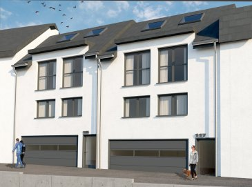 DUPLEX NEUF AVEC 3-4 CHAMBRES EN VENTE  Bel duplex de haut standing, d'environ 138.63m2 habitables, situé au 2' et 3' étage d'une maison bi-familiale, se compose d'un hall d'entrée, living (49.11m2) avec cuisine ouverte ou séparée (au choix), un balcon, trois ou quatre chambres à coucher (au choix du client), dressing, une terrasse, une salle de douche / bain, wc séparée, débarras et une cave.  Caractéristiques: Classe énergétique AAA, Fenêtres triple vitrage, volets électriques, VMC double-flux, isolation phonique, chauffage au sol, carrelages et/ou parquet, sanitaire et autres finitions sont au choix du client  Le projet étant en phase de construction, il est toujours possible de modifier les murs non porteurs à la demande du client, inclus dans le prix!  Situation : +/-500m du Centre-Ville de Dudelange Transport publics : Arrêt de bus à moins d'1min, Accès autoroute A3 / A13 à moins de 3km, Disponibilité : 1 semestre 2021. Emplacement de parking intérieur en supplément au prix de 25'000 €.  Les prix annoncés comprennent la TVA 3%.   Pour toutes autres informations, n'hésitez pas à nous contacter ! E-Mail : info@fn-promotion.lu GSM : +352 621 139 988  ------   DUPLEX MIT 3 - 4 SCHLAFZIMMERN  Schöne Wohnung mit einer Wohnfläche von ca. 138.63 m2, im 2. und 3. Stockwerk eines Zweifamilienhauses, bestehend aus einer Eingangshalle, einem Wohnzimmer (+/-49.11m2) mit offener oder separater Küche von +/-14.08m2 (je nach Wahl des Kunden), und Zugang zu einer Terrasse, drei oder vier Schlafzimmer (je nach Wahl des Kunden), Dressing, einem Dusch- oder Badezimmer, separates Gäste-WC sowie auch einem Abstellraum und Keller.  Charakteristiken: Energieklasse AAA, Dreifachverglasung, elektrische Rollläden, mechanische Ventilation (VMC double-flux), Schallschutz, Fußbodenheizung, Fliesen und / oder Parkett, Sanitär und andere Finitionen sind ebenfalls nach Wahl des Kunden!  Da sich das Projekt in der Bauphase befindet, besteht weiterhin die Möglichkeit nicht-tragende Mauern nach 