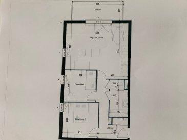 PROGRAMME NEUF A HERSERANGE  Dans un environnement calme, proche commodités  Un appartement T3 de 68.35m² avec une place de parking se composant ainsi :  au 1ier étage: entrée (9.22m²), 2 chambres (11.58m²/9.61m²), SDB (4.66m²), séjour/cuisine (31.97m²), w-c (1.31m²) un balcon (9.84m²)  TVA 5.5% selon revenus  Livraison prévue au 4èmeTrimestre 2023.