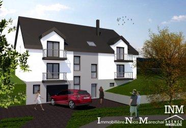 Bel appartement neuf (Lot 011) de +/- 96,31 m2 (Ecopass: BB) prochainement en construction dans une petite résidence dénommée