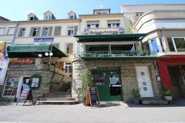 RE/MAX, spécialiste de l'immobilier au Luxembourg, vous propose à la vente un fonds de commerce en plein centre de Remich, au bord de la Moselle d'une promenade longue de 3 kilomètres.  Entièrement refait à neuf ( comptoir, mobilier, cuisines professionnelles et le rafraîchissement des 8 chambres qui sont à l'étage) Capacité d'accueil, 90 couverts répartis dans deux salles très lumineuses, 120 couverts sur la terrasse de l'Esplanade et 40 couverts sur la terrasse semi-couverte, qui peut être complètement fermée pour l'hiver.  Au niveau du rez-de-chaussée, vous retrouvez encore un très grand espace commercial, pouvant être exploité comme, magasin, snack, Bar Lounge. Cuisine existante.  Chiffre d'affaires, très satisfaisant pour une première année d'exploitation.  Pour tout renseignement et photos, merci de me contacter au 621 252 212 mail jorge.dagraca@remax.lu Ref agence :5095694