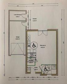 PROGRAMME NEUF sur la commune de Mont St Martin (54350) face au parc Brigidi 3 maisons individuelles avec garage attenant, terrasse et jardinet RDC : Entrée,  salle de douche avec WC, grande pièce à vivre de 35 m² ouverte sur cuisine, Etage : Hall de nuit, trois chambres, salle de bains avec baignoire et WC Programme présenté UNIQUEMENT sur RDC en agence avec plans et descriptif complet T.V.A. 5.5 % applicable selon revenus LIVRAISON PREVUE 4ème TRIMESTRE 2022