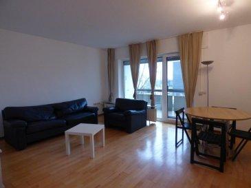 MONIA SOUILMI ( 691 21 29 46 ), RE/MAX spécialiste dans l'immobilier à CENTS, vous propose, en location, cet appartement meublé de 60m² situé dans une résidence de 16 unités et dans un quartier calme et proche de toutes les commodités à CENTS. L'appartement est situé au rez-de-chaussée et qui se compose comme suit: -Un grand couloir d'entrée avec un placard pour rangement -Un séjour ouvrant sur un balcon de 6m² environ. -Une cuisine équipée. -Une salle de bain bien spacieuse avec un CW.  -Une chambre avec une grande armoire encastrée. -Une une buanderie commune. L'appartement est équipée par des fenêtres doubles vitrages, parquets, carrelage aux sols, parlophone, chauffage au gaz... Beaucoup d'emplacements à l'extérieur, quartier trop calme, commerce, transports et écoles à proximités  A SAISIR !!!! LIBRE DE SUITE!!!!  N'hésitez pas à me faire confiance pour vous aider à vendre, à louer et à acheter vos biens immobiliers !!!! monia.souilmi@remax.lu www.remax.lu/monia-souilmi Ref agence :5095861