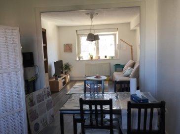 Appartement situé au 1er étage d'un petit immeuble de caractère, proche centre ville et commerces, comprenant cuisine équipée, salon-séjour, chambre, salle d'eau, WC séparé. Chauffage individuel gaz. Jardin commun.