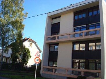 Montigny-lès-Metz .INVESTISSEURS  F5 loué  en duplex 102.15m²,. Spécial investisseurs. APPARTEMENT LOUE 690€/mois HORS CHARGES (+75€ de charges)<br/>Dans un résidence  bien tenue de 20 lots d\'habitations, au 2è étage, beau duplex lumineux, comprenant, entrée, buanderie, cuisine équipée, salon-séjour, wc, à l\'étage, 3 chambres et salle de bains. balcon.<br/>Cave et box en sous-sol.<br/><br/>Chauffage individuelle gaz, cave et  parking en sous-sol.<br/><br/>Copropriété de 20 lots.<br/>Charges annuelles : 1320.00 euros.