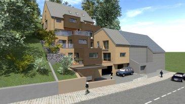 Appartement 04 de 74.79m2 au deuxième étage comprenant:<br><br>Entrée, WC séparé, séjour, cuisine ouverte, débarras, 1 chambre à coucher, salle de bain, terrasse de 8.12m2, cave<br><br>Prix de l'appartement:<br>à 3% de TVA: 345.000€<br>à 17% de TVA: 372.951,83€<br>Parking intérieur:  25.750€ à 3% de TVA - 28.570,38€ à 17% de TVA<br>Parking extérieur:  15 450€ à 3% de TVA - 16.958,74€ à 17% de TVA<br><br>TVA à 3% sous condition de l'accord de l'enregistrement<br><br>ETTELBRUCK - Résidence en construction.<br>Fin des travaux: printemps 2016<br><br>La résidence est composée de 6 appartements et 2 appartements duplex à l'architecture moderne, disposés sur quatre niveaux avec ascenseur.<br><br>Appartements à 1 ou 2 chambres avec balcon ou terrasse dirigés plein sud,une cave et  un ou deux emplacements intérieurs.<br><br>Aspect énergétique: matériaux assurant une très bonne performance, Classe B/B en terme de performance énergétique (Basse énergie)<br><br>- triple vitrage<br>- façade avec isolant de 18cm d'épaisseur<br>- chauffage : pompe à chaleur<br>- ventilation contrôlée<br><br><br><br />Ref agence :1071540