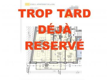 Votre agence IMMO LORENA de Pétange vous propose dans une résidence contemporaine en future construction de 13 unités sur 4 niveaux située à Rodange, 45 chemin de Brouck 1 appartement de 72.69 m2 au DEUXIEME ETAGE avec ascenseur décomposé de la façon suivante:  - Hall d'entrée de 9.69 m2 - Salle de bain de 5.30 m2  - Un WC sépare de 1,76 m2 - Cuisine ouverte et salon de 32,16 m2 donnant accès au balcon de 10.82 m2. - Une première chambre de 11,96 m2, une deuxième chambre de 9,42 m2 - Une cave privative, un emplacement pour lave-linge et sèche-linge au sous sol et son jardin privatif de 83,41 m2. Possibilité d'acquérir un emplacement intérieur (25.000 €) ou un garage fermé intérieur (35.000€).  Cette résidence de performance énergétique AB construite selon les règles de l'art associe une qualité de haut standing à une construction traditionnelle luxembourgeoise, châssis en PVC triple vitrage, ventilation double flux, chauffage au sol, video - parlophone, système domotique, etc... Avec des pièces de vie aux beaux volumes et lumineuses grâce à de belles baies vitrées.  Ces biens constituent entres autre de par leur situation, un excellent investissement. Le prix comprend les garanties biennales et décennales et une TVA à 3%. Livraison prévue septembre 2021.  Pour tout contact: Joanna RICKAL +352 621 36 56 40 Vitor Pires: +352 691 761 110   L'agence Immo Lorena est à votre disposition pour toutes vos recherches ainsi que pour vos transactions LOCATIONS ET VENTES au Luxembourg, en France et en Belgique. Nous sommes également ouverts les samedis de 10h à 19h sans interruption. Demander plus d'informations