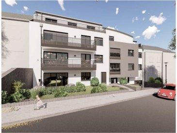 Votre agence IMMO LORENA de Pétange vous propose dans une résidence contemporaine en future construction de 13 unités sur 4 niveaux située à Rodange, 45 chemin de Brouck 1 appartement de 89.92 m2 au DEUXIEME ETAGE avec ascenseur décomposé de la façon suivante:  - Hall d'entrée de 17,66 m2 - Salle de bain de 5,30 m2  - Un WC sépare de 2 m2  - Un débarras de 3,21 m2 - Cuisine ouverte et salon de 33,66 m2 donnant accès au balcon de 6,67 m2. - Une première chambre de 12,23 m2, une deuxième chambre de 12,28 m2 - Une cave privative, un emplacement pour lave-linge et sèche-linge au sous sol. Possibilité d'acquérir un emplacement intérieur (25.000 €) ou un garage fermé intérieur (35.000€).  Cette résidence de performance énergétique AB construite selon les règles de l'art associe une qualité de haut standing à une construction traditionnelle luxembourgeoise, châssis en PVC triple vitrage, ventilation double flux, chauffage au sol, video - parlophone, système domotique, etc... Avec des pièces de vie aux beaux volumes et lumineuses grâce à de belles baies vitrées.  Ces biens constituent entres autre de par leur situation, un excellent investissement. Le prix comprend les garanties biennales et décennales et une TVA à 3%. Livraison prévue septembre 2021.  3% du prix de vente à la charge de la partie venderesse + 17% TVA Pas de frais pour le futur acquéreur   Pour tout contact: Joanna RICKAL +352 621 36 56 40 Vitor Pires: +352 691 761 110   L'agence Immo Lorena est à votre disposition pour toutes vos recherches ainsi que pour vos transactions LOCATIONS ET VENTES au Luxembourg, en France et en Belgique. Nous sommes également ouverts les samedis de 10h à 19h sans interruption. Demander plus d'informations