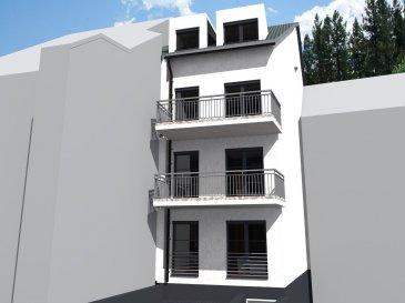 Immo Color Sàrl vous offre la possibilité d'acheter un appartement en nouvelle construction (vente future achèvement). Situé à Wiltz (rue du Pont)  Dans le prémier étage d'une résidence de seulement 4 logements. La surface habitable est de 89,56m²  Composé de: - Séjour, cuisine ouverte, salle à manger - 3 chambres à coucher - 1 salle de douche - 1 WC séparé - 1 balcon - 1 emplacement intérieur, buanderie, cave Prix de vente: 334 383,00€ (3% sous réserve d'acceptation de l'application de la TVA  super réduite de la part de l'Administration de l'Enregistrement et des Domaines.  Nous sommes à votre écoute pour toute demande d'information. www.immocolor.lu