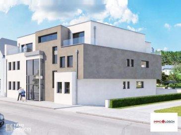 ***NOUVELLE CONSTRUCTION***  Résidence comprenant 5 appartements 1 Ch., 1 appartement Duplex avec 2 Ch. et 1 studio à Esch-sur-Alzette.    Description de l'appartement:  - 75m2 - Hall d'entrée  - Salon  - Cuisine ouverte  - Salle de bain  - Chambre à coucher  - Cave  - Terrasse (45m2)  - Jardin   Possibilité d'acheter un emplacement pour une voiture au prix de : 40 000 ' TTC 3% (42.000 ' TTC 17%)  Classe énergétique appartements : B-B  Prix TTC 17% : 502.667 ' Prix TTC 3% : 479.440 '        Ref agence :1213121