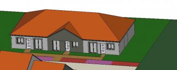 A Piedmont (Mont-Saint-Martin), dans un environnement calme, Nouveau lotissement, proche commodités, Maison Mitoyenne de plain pied avec 2 places de parking, cuisine ouverte sur séjour (52.20m²), 1 chambre (11.20m²), SDB avec w-c (5.20m²), dégagement (1.50m²),  sur 2.12 ares de terrain. Possibilité 2ème chambre.  Livraison prévue au 1er Trimestre 2022.