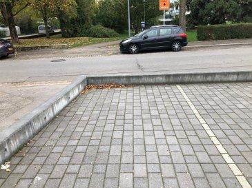Emplacement extérieur privé dans la route de burange, près de la gare de Dudelange-Ville  Disponibel de suite