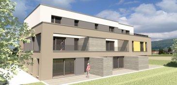 Bridel : Résidence HYDE PARK  Ensemble résidentiel comportant plusieurs appartements, duplex et maisonnettes. Idéalement situé à Bridel dans un écrin de verdure près de l'école primaire et du complexe sportif entre la rue F.-C. Greden et la rue des pins.  Bridel se trouve à 8 km du Kirchberg et du centre ville de Luxembourg, dans un cadre calme et en pleine nature. L'accès autoroutier pour l'A6 est à 4 km.  Les bâtiments seront construits selon les dernières normes environnementales en vigueur AA.  Livraison début 2020  Tous les prix annoncés s'entendent à 3% TVA, sujet à une autorisation par l'administration de l'enregistrement et des domaines.  Surface totale brute: 174.58m2 Surface totale nette: 137.02m2  Ref agence :App-Duplex 5 Lot007/009/034/042