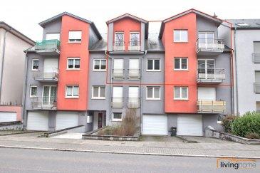 Spacieux duplex, d'une surface au sol de 158 m², situé au 2e et 3e étage de la résidence