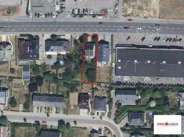 Terrain à vendre sis à la route d\'Arlon à Strassen <br><br>5ares 73ca<br><br>Maison à démolir ou à rénover<br><br>Pas de contrat de construction <br><br><br />Ref agence :1213093
