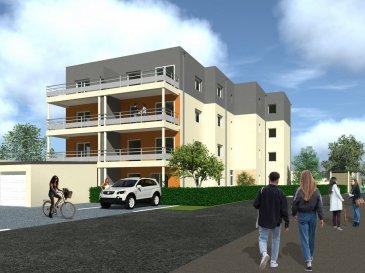 BELARDIMMO vous propose en VEFA un appartement neuf avec 1 chambre à coucher à Thil (Ville adjacente à Villerupt), commune située à 5 minutes de la frontière.  Six appartements T2 sont disponibles, prix à partir de 170 224 euros.  Cet appartement fait partie du programme appelé Résidence Rodina, qui se situe Rue du Carreau de la Mine. Il s'agit d'une résidence de 16 appartements, disposés sur 3 étages, avec emplacements voitures ou garages. Et bénéficie de belles prestations ; incluant vidéophone des volets électriques, une salle de bain équipée, d'un WC séparé et de chauffage au gaz par le sol avec compteur individuel.  L'appartement est disposé ainsi :  - hall d'entrée - séjour/cuisine ouverte de 29,19 m² avec accès terrasse - balcon de 15,50 m² - 1 chambre à coucher (11,16 m²) - salle de douche  - WC séparé  - terrasse (15,15 m²)   Possibilité d'acquérir également une place de parking privative ou un garage en supplément.  La résidence, construite en maçonnerie traditionnelle, bénéficie d'un ascenseur et d'un local à vélo .   Livraison prévue 1er trimestre 2023.  Pour plus d'informations ou pour de la documentation, contactez-nous au :    352 26543148 (bureau)   352 661572502 (portable)