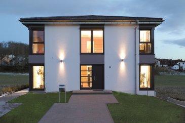 Schlüsselfertiges Haus der Energieklasse AAA auf Keller mit Grundstück  Grundstücksgröße: 8,24 ares (Commune Mondorf les Bains)  INKLUSIVE: + 4 Schlafzimmer, 175m² Wohnfläche + Fundamentplatte inkl. 140 mm Dämmung + Passiv-Plus-Wand 383mm, U-Wert = 0.10W + Luftwasserwärmepumpe oder Holzpelletheizung + Heizungsunterstützende Solaranlage 7,8m² inkl. 600 Ltr. Pufferspeicher, + Fußbodenheizung mit Einzelraumregelung, + Sole-Erdwärmetauscher, + Gäste WC, Bad + Maler Tapezierarbeiten + Bodenbeläge + Multimedia + Doppelgarage + Blower Door Test + Architektenleistung