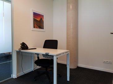 A louer à Livange proche des accès autoroutes, un bureau meublé dans un business center.  Loyer 869 Eur HT. Parking extérieur : 90 Eur HT. Parking Intérieur : 150 Eur HT.