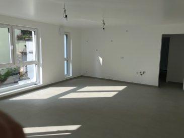 Fis Immobilière a l'honneur de vous présenter un appartement idéalement situé près de toutes commodités tel que les arrêts de bus, banques, supermarché, hôpital, axes routiers et de tous les grands employeurs du Kirchberg. D'une surface de +ou- 73.91m2, l'appartement dispose de deux chambres à coucher dont une avec un accès directe sur une terrasse de +ou- 19.98m2, d'une salle de douche, d'une cuisine entièrement équipée avec des électroménagers Siemens, ouverte sur le living qui donne accès directe sur un deuxième balcon de 3.02m2 et d'une cave privative au sous-sol. La construction est en classe BB avec des fenêtres triple vitrées, du chauffage au sol dans les appartements, une ventilation mécanique contrôlée avec un thermostat pour régler la température individuellement dans chaque pièce. L'appartement est situé au rez-de-chaussée dans une petite résidence de 5 unités seulement disposant d'un ascenseur, d'une buanderie commune, d'un local commun pour les poussettes et les vélos, etc. Le prix affiché est à 17% TVA inclus, avec la possibilité d'avoir un remboursement de 14% de TVA sur la construction, jusqu'à une somme de 50.000,00€ , sous acceptation de l'administration de l'enregistrement et des domaines.   Pour tout renseignement veuillez nous contacter au +352 621 278 925