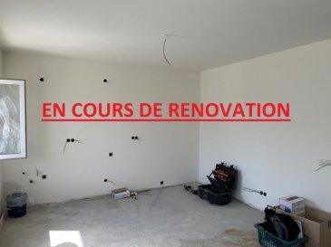 °°° EN COURS DE RENOVATION°°° (les photos seront disponible à partir du 10/06/2021)  Appartement complètement rénové d'une surface de +/- 40 m2, situé au 1er étage d'une résidence près du PARC LE'H  Nouvelle cuisine équipée ouverte sur un living, une chambres à coucher et une salle de bains avec douche avec WC.  Au sous-sol, une cave privative (8m2) ainsi qu'un grand jardin commun.   Disponible : 15 juin 2021  Adresse : 1. rue Emile Ludwig L- 3513 Dudelange  Loyer : 1 050 € Charges : 100 € Caution : 2 300 € Frais d'agence : 1 228 €  Pour plus d'informations ou de photos, veuillez nous contacter.  LX2 IMMO Christian: +352 621 267 750