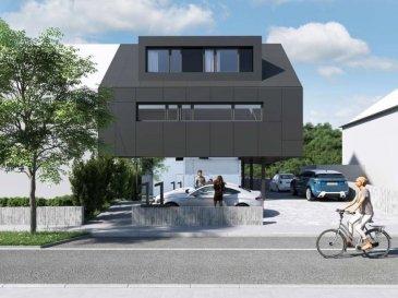 Melia Property en collaboration avec SOHO présentent le Programme neuf d'une résidence de 4 unités d'une finition de haut qualité avec architecture résolument contemporaine à Dudelange proche du hyper centre et toutes commodités.  Appartement duplex 4 – Prix TTC 3% 665.223,51 euro : Séjour / Cuisine / S. à M. 47,67 m2 Débarras 6,79 m2 3 Chambres à coucher 14,55 m2, 10,07 m2 et 10,11 m2 2 Salles de douche 6,43 m2 et 4,01m2 1 WC 1,56 m2 1 Terrasse 22,78 m2 Cave + buanderie privatif de 9,11 m2 1 emplacement de voiture pour 2 véhicules (prix TTC 27500 euro)  Votre contacte : Madame Sabek 661 140 857