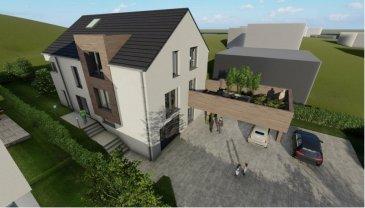 CITRA Immobilière vous présente ce nouveau projet d'une maison jumelée libre de 3 côtés sur un beau terrain plat, dans le village de Nocher, à 7 km de Wiltz et 5 de Kautenbach (Gare CFL Ligne 10 directe vers Luxembourg, parkings gratuits). Arrêt de bus à 40 m.  La maison libre de 4 côtés se veut