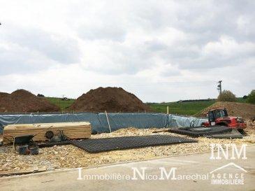 Joli terrain à bâtir (Lot 10) de +/- 8,33 ares dans un nouveau lotissement pour construction d\'une maison 4 façades situé \