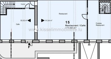 Kissel Immobilière vous propose à la Vente<br><br>LOCAL DE COMMERCIAL 170 m²<br><br>- 6 Parking<br>- Cave 16 m²<br>- WC homme et dames 25 m²<br>- Vestiaire avec douche 32 m²<br>- Local poubelle<br>- Terrasse 60 m²<br><br>L\'agence KISSEL Immobilière vous propose des objets sélectionnés, pour répondre à la demande de notre clientèle.<br>Estimation gratuite de votre bien et cela sans engagement.