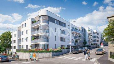 M572936 LOT A207 Bel Appartement F3 de 2ch, balcon 7m², 2 pkg NANCY<br><br>Grand Appartement de type 3 pièces , au coeur d\'un quartier calme et recherché, à la croisée des Villes de NANCY, MAXEVILLE et MALZEVILLE , La résidence Les terrasses d\'Emile offre tous les avantages de la ville sans ses inconvénients.<br>A proximité des services et commerces (bus, poste, école, collège, boulangerie, pharmacie) des axes autoroutiers, le bien se situe également à 1,8 kms du centre ville de Nancy, de la gare SNCF et de la place Stanislas.<br><br>L\'appartement A304 offre des prestations de qualité entièrement dédiées au confort et au bien-être des habitants notamment grâce à son objectif de 10% plus performant que la RT2012, et une certification NF Habitat HQE.<br><br>Immosky Grand Est vous propose dans ce programme exceptionnel à tous niveaux, cet appartement d\'exception, au troisième étage, comprenant une très grande pièce a vivre prolongée d\'un balcon de plus de 7 m² orienté SUD, 2 chambres, une salle de bain, et wc indépendant..<br><br>La remise de clé de votre bien est programmée au 4ème trimestre 2022.<br><br>N\'hésitez pas à nous contacter si vous recherchez un bien rare, idéalement situé, à habiter ou pour investissement dans le cadre de la loi PINEL. Accompagnement possible avec notre partenaire courtier spécialisé en taux à prêt zéro, investissement, et accompagnement.<br><br>Pour tout renseignement, contactez Olivier FREMONT au 07.67.29.36.16<br><br>Frais de notaires réduits.<br> Pour plus d\'informations Olivier FREMONT, Agent commercial spécialiste du secteur, est à votre entière disposition au 07 67 29 36 16.<br>Honoraires à la charge du vendeur.
