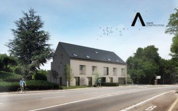 Future Résidence à Soleuvre :  Appartement 01:  - Hall d'entrée - Wc séparée - Cuisine - Salon - Living - 2 chambres à coucher  - Salle de bains - Terrasse (28,3 m2) - Jardin (348 m2)  - Cave  - Parking pas inclus dans le prix ( 35.000€ ttc 3%TVA)    Nous vous invitons à nous rendre visite ou contacter l'un de nos commerciaux pour plus d'informations.  Mr. Marc Risch 621210333  Mr. Moura Jemp 621216646   Les surfaces et superficies sont indicatives  Rejoignez-nous sur Facebook : Newjomar Belval