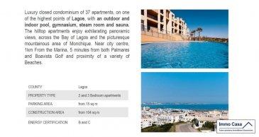 Portugal - Algarve (Vilamoura)  AVEZ ûVOUS DÉJÀ PENSÉ À AVOIR UNE MAISON AU PORTUGAL?   Si vous y passez déjà des vacances, pourquoi ne pas y élire domicile? En plus toutes les raisons que vous connaissez déjà, sachez que le Portugal offre des conditions attractives pour votre achat, qu'il soit à titre personnel ou pour investissement.  Vous vivez dans un pays avec une grande variété de paysages et d'environnement à courtes distances, plages avec étendus de sable à perte de vue, montagnes et de plaines dorées, villes cosmopolites et un patrimoine millénaire.  Saviez-vous que nombres d'heures de soleil arrive à  atteindre les 3300heures au sud du pays et 1600heures au nord, ce qui correspond aux chiffres les plus élevés en Europe ? Sans oublier les avantages fiscaux pour les pensionnés qui veulent habiter au Portugal. Pas de taxe sur le revenu pendant 10 ans.  Immo Casa vous propose plus de 500 biens au Portugal des appartements de 75m2 au prix de 50.000Eur à la Villa de 500m2 au prix de 3.500.000Eur, dans des endroits très prisés du Portugal. Financements à 90% par une institution financière Portugaise.  Du Nord au Sud du Portugal en passant par le Centre et le Littoral, des maisons et appartements dans des villes à l'intérieur, comme des maisons et appartements au bord de la mer.   Quelques villes, Braga, Porto, Coimbra, Nazaré, Figueira da Foz, Campo-Maior, Portalegre, Setúbal(Troia), Lisboa, Cascais, Estoril, Faro, Olhão, Albufeira et beaucoup d'autres.  Vous pouvez nous envoyer votre recherche quelle type de bien et votre budjet et on se fera un plaisir à vous le trouver.  YOU HAVE ALREADY THOUGHT TO HAVE A HOUSE IN PORTUGAL?  If you already have your holiday, why not take up residence? In addition to all the reasons you already know, know that Portugal offers attractive conditions for purchasing, whether for personal use or for investment.  You live in a country with a wide variety of landscapes and short distances environment, with extensive beaches of sand ou