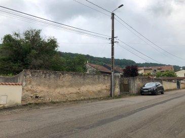 WAVILLE  -  Terrain à bâtir  27 ares. A WAVILLE  25 mn de Metz, proximité Pagny sur Moselle, début RUPT de MAD,<br/>au coeur de ce charmant village, très beau terrain à bâtir de 27 ares clos et arboré en <br/>zone UB.<br/>Possibilité pour une ou plusieurs constructions.