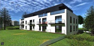 Nouveau projet à Remich  La résidence Eva va être construite sur les hauteurs de Remich, 12 appartements très bien agencés seront reparties sur 3 étages, avec un ascenseur, un local vélo et une buanderie commune.  Sise à Remich, une ville touristique, nichée dans un sublime panorama de vignobles, à quelques pas de la promenade au bord de la Moselle, des commerces, des supermarchés, des écoles et des transports communs.  L'appartement au premier étage a une surface cadastrale de  /-46,98m2 et dispose d'un salon avec une cuisine ouverte et un accès au balcon de  /-5m2, une salle de bain, WC séparé, une chambres à coucher et un grand dressing. Une cave privative au sous-sol appartient à l'appartement.   Prix affiché est TTC 3%. Prix TVA 17%: 410.951,84  Un emplacement de parking est au prix supplémentaire de 30.000,-€ TTC 17%.  * Meubles et équipements de la cuisine ne sont pas inclus dans le prix.  N'hésitez pas à nous contacter pour recevoir les plans de la résidence et le cahier des charges. Ref agence :EVA 6