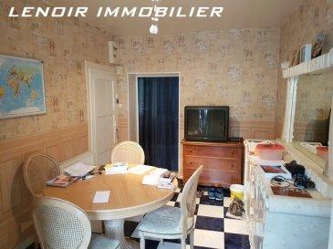 Nilvange:  Pour investisseur, appartement F3 de 54m² à rafraîchir, loué 463 euros situé en RDC et composé d\'une cuisine, un séjour, un coin salon, 2 chambres. Chauffage gaz.  Cave, Garage.  DPE en cours.   Bien en copropriété de 54 lots.  Montant des charges annuelles : 420 euros.  Honoraires charges vendeurs.   LENOIR IMMOBILIER : Vente, Location, Gestion.  www.lenoir-immobilier.fr