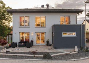 Exklusives, ruhig gelegenes Grundstück mit einer Gesamtgröße von 7 ares in der Commune Wormeldange. Dieses Grundstück eignet sich ideal für ein freistehendes Einfamilienhaus.  -Energieklasse:AAA -Wohnfläche:180 m² -Anzahl der Schlafzimmer:4 -Keller:ja -Garage:Doppelgarage -Geschosse:2    LUXHAUS. Die Nr. 1 in der Climatic-Wand-Technologie.  100% Wohlfühlklima 100% Design Wir freuen uns auf Ihren Besuch.