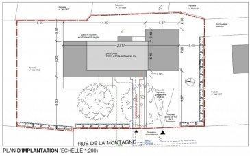 ***AVIS AUX INVESTISSEURS***<br><br>Tempocasa Strassen vous propose ce terrain (SANS CONTRAT DE CONSTRUCTION ) unique de 7 ares,se situant dans un des meilleurs quartiers résidentiels à Walferdange.<br><br>Celui-ci est vendu avec un projet approuvé pour la construction d\'une maison exceptionnelle agencé comme suit :<br><br>- Sous-sol: buanderie, local technique et garage double<br><br>- RDC: Cuisine séparée de plus de 30m², living de plus de 55 m².<br><br>- 1er étage: deux chambres, une salle de douche et une chambre parentale avec dressing et sa salle de bain privative.<br><br>- 2eme étage: Grand hall, débarras, salle de bain, une chambre. Le tout accompagné de deux terrasses de 36m².<br><br><br>Pour plus d\'informations contactez-nous.<br />Ref agence :YB002