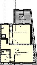 Kissel Immobilière vous propose à la vente  Immeuble de rapport à Beaufort avec cadastre Vertical  Surface Utile  /- 1 000 m², réalisation 2015  La résidence est composée de 8 Appartements, 1 Local Commercial, 14 places de parking, 9 caves, grenier et 1 Garage.  1/ Duplex 4 Chambres  /- 170 m² 2/ Duplex 3 Chambres  /- 120 m² avec Terrasse 3/ Duplex 3 Chambres  /- 100 m² 4/ Appartements 1 Chambre  /-55 m² 5/ Appartement 3 Chambres  /- 130 m² 6/ Appartement 2 Chambres  /- 130 m² 7/ Appartement 1 Chambre  /-77 m² avec Terrasse 8/ Appartements 1 Chambre  /-55 m²  Chaque appartement dispose d'une cave et d'1 Parking  6 Parkings Visiteurs  -Café  /- 54 m² avec comptoir, tabouret, frigo boissons, tireuse à bière. -Salle de Restaurant  /- 117 m² à équiper 40 à 50 Couverts -Cuisine  /- 38m² à équiper -Wc Homme , Femme -2 Réserves -1 Vestiaire avec Douche  L'agence KISSEL Immobilière vous propose des objets sélectionnés, pour répondre à la demande de notre clientèle. Estimation gratuite de votre bien et cela sans engagement.   Pour plus de renseignements contacter Alexandre Kissel au 27 62 12 35  Ref agence :4680083