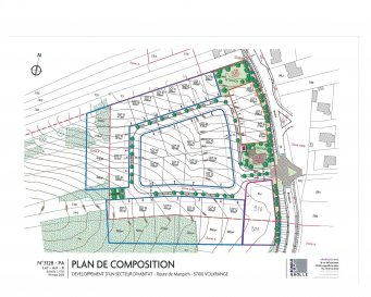 Nouveau à THIONVILLE-VOLKRANGE Places à batir de 270m² à 850m²