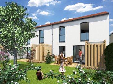 CHIEULLES : A 5 min de St Julien Les Metz maison neuve modulable comprenant une cuisine ouverte sur séjour, 3 chambres, sdb, garage motorisé, terrasse et jardin.