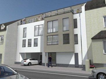 RESIDENCE A WELTESCH <br><br>Notre Bureau d\'information / Vente se trouve à proximité immédiate de la résidence !<br><br>La résidence située à Steinfort offre une qualité de vie exceptionnelle. Elle est idéalement localisé, proche des commerces et des Banques et à proximité immédiate du arrêt de Bus.<br><br>Divisée en 2 bâtiments, cette future construction est composée de 10 appartements d\'1 à 3 chambres à coucher.<br><br>PENTHOUSE A5  (2° étage) 96,75 m2 comprenant :<br>2 chambre à coucher, living avec cuisine ouverte, salle de bain, wc séparé.<br>La cuisine, le living et les deux chambres disposent d\'un accès sur magnifique grande terrasse. <br><br>Classe énergétique : A/B<br><br>Emplacements de voiture disponible moyennant supplément.<br><br> <br />Ref agence :840972