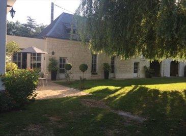 MAISON + GITE VARENNES SUR LOIRE - 10 pièce(s) - 233 m2. HORS SAUMUR    A 12 minutes de Saumur, dans un village avec commerces,  Ensemble immobilier de charme comprenant une maison principale et un gîte (5 étoiles belle rentabilité)~Maison principale : en rez de chaussée :  une cuisine aménagée et équipée, un séjour, un salon avec cheminée, ~3 chambres, un wc, une salle de bains, un dressing~Au 1er étage :  une mezzanine, une chambre, un wc, une salle d\'eau~Gîte : en rez de chaussée, une cuisine aménagée et équipée, un séjour-salon, un wc ~Au 1er étage : un palier, deux chambres, un wc, une salle d\'eau~Grandes dépendances, puits, cave~Le tout sur terrain  de 4643m²~Prix hors honoraires agence 330 000EUR~Honoraires agence 5% soit 16 500EUR charge acquéreurs~Prix FAI 346 500EUR dont 5.00 % honoraires TTC à la charge de l\'acquéreur.