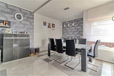 Veuillez contacter Bardia Allami pour de plus amples informations : - T : 621 150 966 - E : bardia.allami@remax.lu  RE/MAX Luxembourg vous propose une jolie maison mitoyenne rénovée à Bonnevoie, à 2 minutes de Luxembourg-Gare. Le bien dispose d'une surface habitable d'environ 140 m² (sur une surface totale d'environ 165 m²). Cette maison détenant beaucoup de potentiel se compose comme suit :  REZ-DE-CHAUSSÉE : 1 hall d'entrée, Living et salle à manger ainsi qu'une jolie cuisine équipée et séparée. 1er ÉTAGE : 2 chambres à coucher avec une grande salle de bain ainsi qu'un grand balcon complète cet étage. 2em ÉTAGE : 2 chambres à coucher et une grande salle de douche, accès au grenier. GRENIER : Surface d'environ 10 m² à aménager.  SOUS-SOL : Cave, buanderie, coin technique, stock et débarras.  Plusieurs rénovations effectuées : circuits électriques, toiture, installation de la chaudière au gaz et plomberie, et enfin le circuit de canalisation et drainages.  Quartier calme et résidentiel, très proche de toutes commodités, à 2 min de la gare de Luxembourg, commerces et crèche à proximité. Frais d'agence RE/MAX : à la charge de la partie venderesse + TVA.