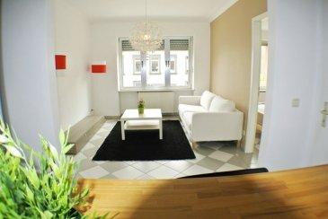 A louer, bel appartement complètement meublé et équipé, avec 1 chambre à coucher, situé au 2ème étage d'une résidence sise au 53 Rue de Hollerich L-1741 Luxembourg.  Descriptif: L'appartement se compose d'un hall d'entrée, d'une cuisine équipée ouverte, d'une chambre séparée, d'une salle de bain avec WC, d'un balcon.  L'appartement est complètement meublé, frigo, lit, armoire, canapé, etc,...  Disponible le 15.06.2021  Loyer: 1 300.00 euros TTC / mois  Charges: 150.00 euros TTC / mois: All Inklusiv (sauf wifi, abonnement TV et téléphone)  Votre personne de contact est Yves ROGOWSKI, disponible au 00352 621 455 455  ********  FOR RENT Nice and lightly 1 bedroom apartement on the 2nd floor of a residence located in 53 Rue de Hollerich L-1741 Luxembourg  Description: The flat has 1 entrance area, a fully equipped kitchen (dishwasher, oven, fridge, freezer, etc,..)1 separated bedroom, 1 living room with sofa and cupboard, 1 bathroom with bath, sink and WC and a balcony.  The apartment is furnished  Available on the 15.06.2021  1 year rent contract, renewable.  Rent: € 1 300.00 Charges: € 150.00 all inclusiv (water, heating, electricity)  Please contact Yves ROGOWSKI for a visit : 00352 621 455 455
