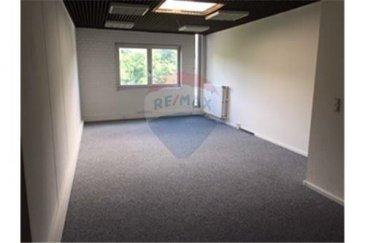 Location  bureau 40m² à Howald (Hespérange) RE/MAX spécialiste de l'immobilier à Luxembourg vous propose à la location ce grand bureau d'une surface de 40 m² disponible immédiatement. Cet espace peut être rendu communiquant avec un autre espace de trois bureaux d'une surface totale de 90m² également disponibles à la location. Situé au 3ème étage avec ascenseur à 2,6 km du centre gare de la ville de Luxembourg avec possibilité de parking gratuit au pied de l'immeuble. N'hésitez pas à nous contacter pour toute question, complément d'informations ou convenir d'une visite.  Commission d'agence 1 loyer mensuel plus TVA / 25% d'un loyer plus TVA pour l'état des lieux.