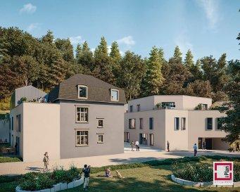 NEY-IMMOBILIERE vous propose en vente un appartement-triplex (0-01/1-01/2-01) dans la nouvelle résidence LE FAUBOURG en futur construction à Neudorf, il sera composé comme suit; hall d'entrée, 3ch à c, 2 salles des douches, séjour avec cuisine ouverte, wc séparé, débarras, terrasse, jardin privatif, cave et un emplacement de parking intérieur. En matière d'enseignement, Neudorf dispose d'une école primaire, d'un foyer scolaire et de plusieurs crèches. Divers lycées se trouvent à 3–7,5 km de la résidence. Au niveau transports, on retrouve deux stations vel'OH! et trois arrêtsde bus à quelques pas de la résidence: «Kierch», «Brasserie» et «Huesegrëndchen». Ces arrêts sont fréquentés par les lignes de bus suivantes: 7 (Verlorenkost – Kirchberg) 9 (Gare – Waassertuerm) 25 (Hamm rue de Bitbourg – Dommeldange Gare) CN1 (Hollerich P+R Bouillon – Waassertuerm) L'avenue John F. Kennedy permet un accès direct aux grandes autoroutes A1 direction Trèves / A3 Metz / A6 Arlon et A7 Route du Nord.