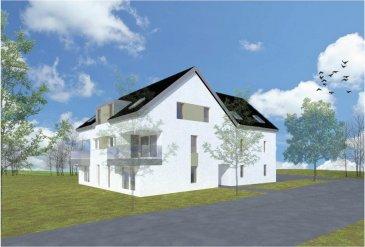 Fis Immobilière vous présente une toute nouvelle résidence en futur construction qui sera située dans la commune de Hobscheid.  Cette résidence de haut standing comprendra au sous-sol 4 caves, une buanderie commune, chaufferie et un local de compteurs.  Au Rez-de-Chaussée il y aura un sas d'entrée, un hall, un local de vélos, un local de pobelles et 4 parkings fermés. De plus le Rez-dechaussée comprendra un appartement de 106.49m2 avec sa terrasse de 11.99m2.   Au 1er étages et aux combles se trouveront 3 duplex. Le duplex A2  de 120.28m2 avec sa terrasse de 12.72m2, le duplex A3 de 128.47m2 avec sa terrasse de 12.72m2 et le duplex A4 de 120.75m2 avec sa terrasse de 12.72m2.   L'immeuble comprendra en tout 4 unités très spacieuses et sera équipé de fenêtres triple vitrage, VMC, Paneaux solaires, chauffage au sol, etc.  Passeport énergétique = A